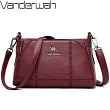 Luxus Weiche Leder Handtaschen Frauen Messenger Taschen Designer Vintage Umhängetaschen für Frauen Schulter Tasche Damen Hand tasche Mochila