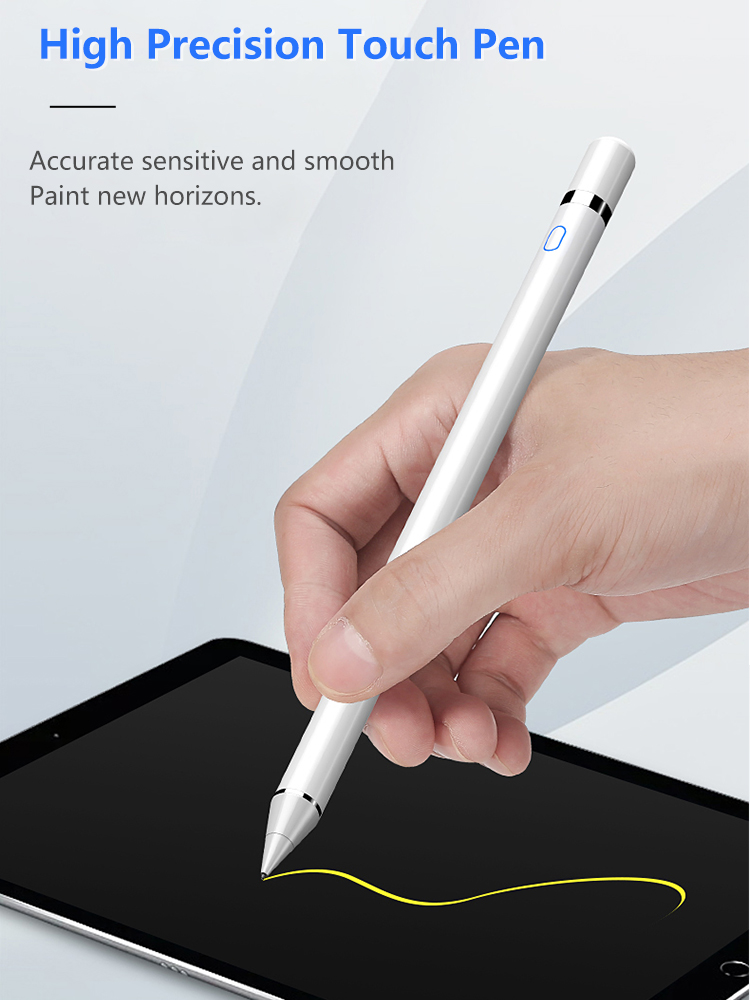 Image 2 - Universal Stylus Touch Pen for iPad Tablet Moblie Phone Capacitive Screen Stylus Pen for iPhone Huawei Xiaomi Tablets ChargableTablet Touch Pens   -