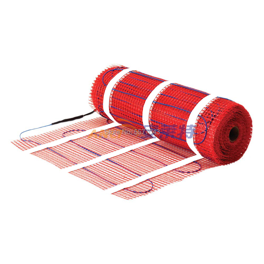 esteira de aquecimento autoadesiva do underfloor para o aquecimento 150 w m2 da casa