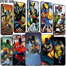 Thor Odinson Marvel Comics Wolverine สำหรับ Samsung Galaxy A51 A71 A81 A91 A41 A21 A11 A01 J8 J7 j6 J4 PLUS A2 PRIME 2018(China)