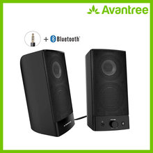 Avantree Desktop Bluetooth Computer Speakers, Wireless & Wired 2-in-1, Superb Stereo Audio, AC Powered 3.5mm/RCA Multimedia(China)