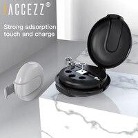 ! ACCEZZ 3 в 1 Магнитный кабель с коробкой для быстрой зарядки для iPhone XS XR 11 Pro Max Micro usb type C магнитные кабели для зарядного устройства