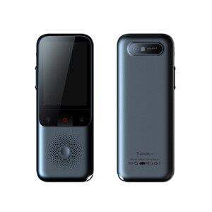 Image 2 - Traductor de voz inteligente portátil T11, 138 idiomas, Multi lenguaje, traductor interactivo fuera de línea, viajes de negocios