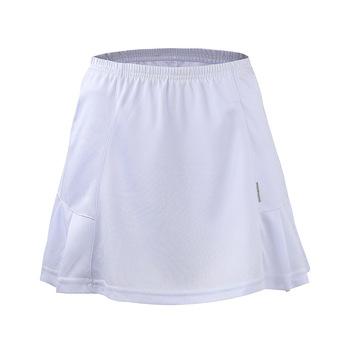 2019 w nowym stylu tablica świetlna sport podzielona spódnica Solid Color wszechstronna tenis Badminton odzież spódnica Anti-Exposure Safe Short S tanie i dobre opinie China NAIM 045 Divided Skirt