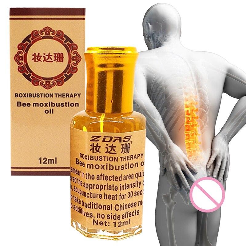 Натуральный пчела ладонь прижигание эфирное масло ревматизм зубная боль кость травма поясничный диск грыжа замороженный плечо мышца боль