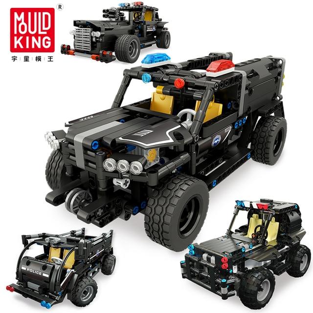 Technic RC Car Building Blocks Remote Control Race Model SUV Technology Build Modular DIY Bricks Toys For Kids