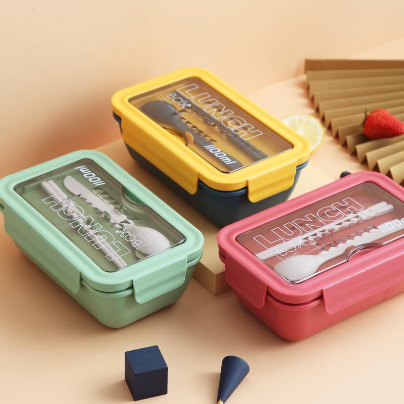 PP Пластик микроволновая печь здоровый Материал Коробки для обедов столовая посуда Еда контейнер для хранения коробка для завтрака Пикник К...