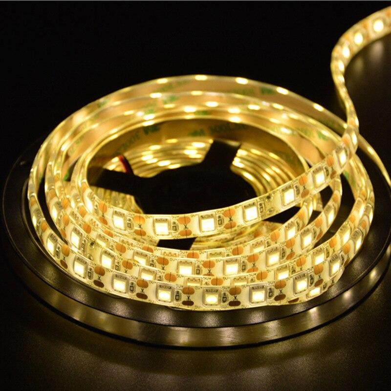 5 V Led 5050 Bare Board Waterproof Non-watertight 60 Beads/m Rgb Colorful Soft Light DIY 5V Light Belt