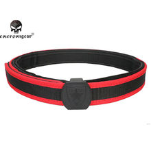 цены emersongear Emerson IPSC IDPA 1.5 inch Shooting Belt High Speed Competition Belt Airsoft Red