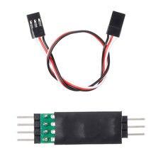 Système de panneau de commutateur de commande de lumière de lampe à LED allumer/éteindre 3CH pour Traxxas Hsp Redcat Rc4Wd Tamiya Axial Scx10 D90 véhicule de voiture RC