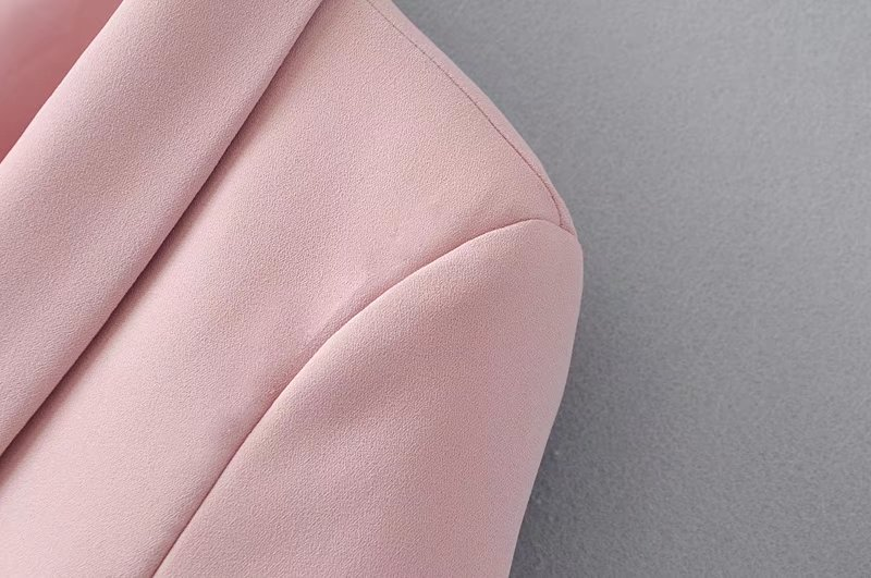 Drape Fold Shawl Collar Big Pockets casual blazer jacket office lady Autumn 2020 spring Long-Sleeve Female Small Suit