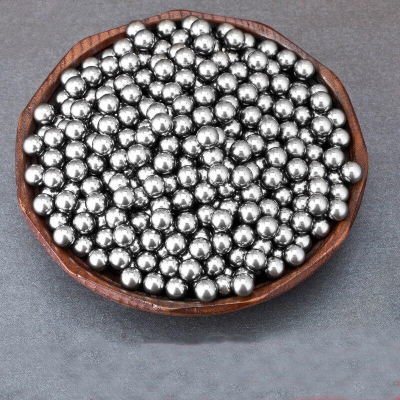 100 Pcs/Lot 3mm-6mm Steel Balls Slingshot Hunting High-carbon Steel Slingshot Balls Catapult Slingshot Hitting Ammo Steel