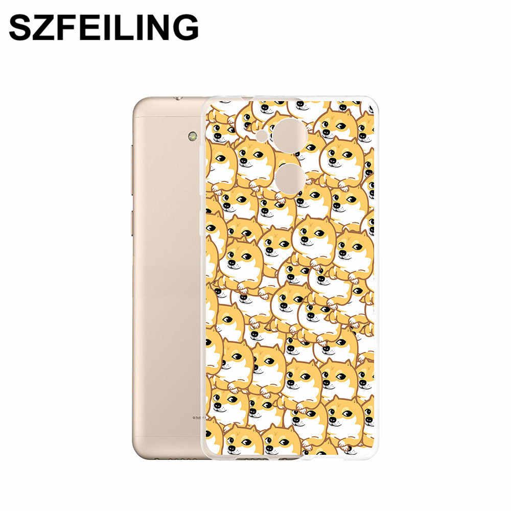 Caso de telefone silicone transparente para huawei companheiro 20 10 lite 30 20x9 pro capa traseira 3d pintura gato escudo cabido caso da forma