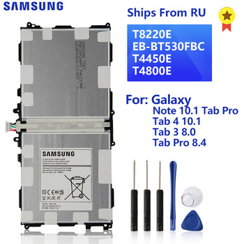 SAMSUNG Original Battery T8220E For Samsung Galaxy Note 10.1 Tab Pro P600 SM-T520 Tab 4 10.1 T530 Tab 3 8.0 T310 Tab Pro SM-T320 protective clear pet screen guard film for samsung galaxy tab pro 8 4 t320 transparent 3 pcs