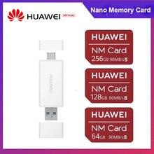 Huawei nano cartão de memória 64gb/128gb/256gb 90 mb/s cartão nm para companheiro 30 pro companheiro 30 rs p30 pro p30 companheiro 20 pro 20 x rs nova 5 pro
