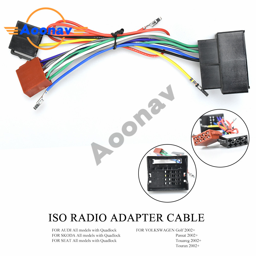 Aoonav 12 125 Iso Radio Adapter For Bmw 3 Series E90 91 E92 E93 Wiring Harness Connector Lead Loom Cable Plug Adaptor Stereo Cables Adapters Sockets Aliexpress
