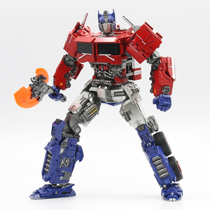 Image 2 - SS38 OP Commander Transformation AOYI LS 13 LS13  with Light  Movie Model Alloy Deformation Action Figure Robot Toys Kids Gifts