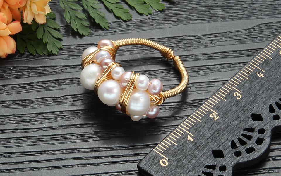 Pearl rings (1)
