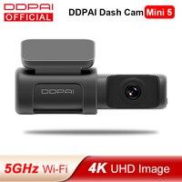DDPAI Dash Cam Mini 5 UHD DVR Android Car Camera 4K Wifi integrato GPS 24H parcheggio 2160P Auto Drive veicolo Video Recroder Mini 5