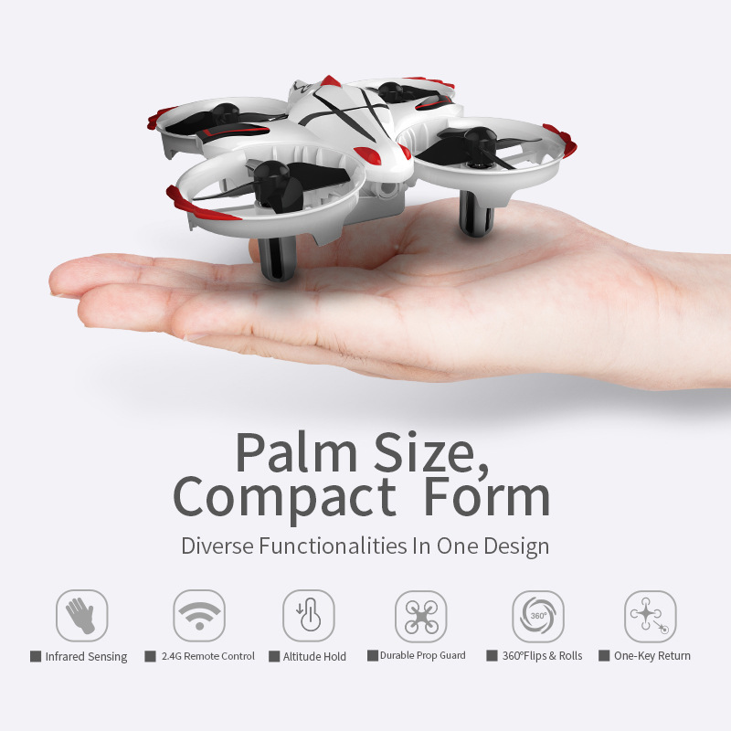 T2G Infrared Sensor Interactive Remote Control Mini Drone