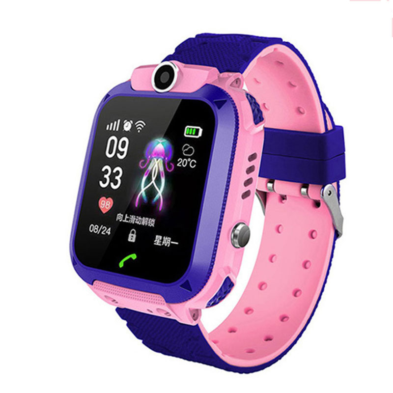 Kid Smart Watch Waterproof Smart Wristwatch Anti-lost Touch Screen Smartwatch Bracelet Children's Watches