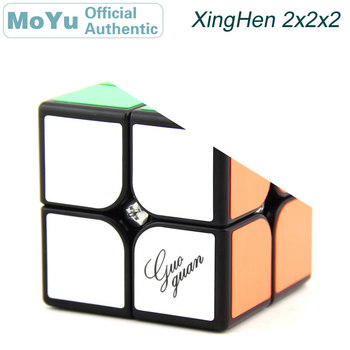 MoYu GuoGuan XingHen 2x2x2 Magic Cube 2x2 Cubo Magico Professional Neo Speed Cube Puzzle Antistress Toys For Children yongjun mirror 2x2x2 magic cube yj 2x2 professional speed puzzle antistress educational toys for children