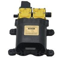 12V DC Edelstahl Hochdruck Intelligente Landwirtschaftliche Elektrische Wasserpumpe Wasser Sprayer Dual Core Pflanzen Bewässerung Werkzeuge-in Elektrowerkzeuge Zubehör aus Werkzeug bei