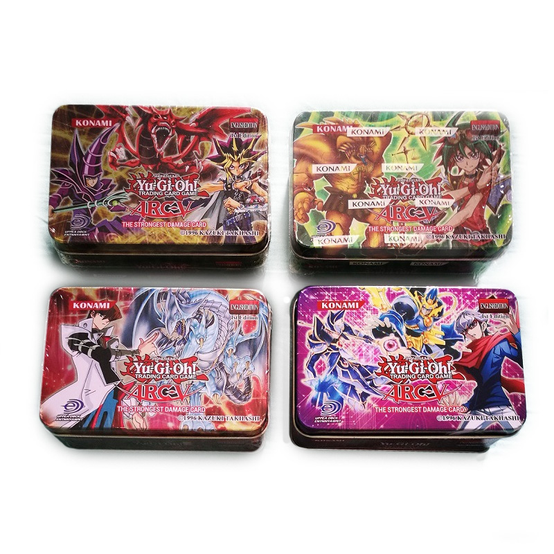 Takara Tomy Pokemon Card Yu Gi Oh English Game Kids Play Carton Japan Yugioh Game For Collection 42pcs