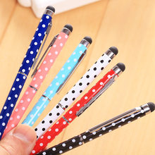 High Quality 1pcs Multifunctional Touch Pen Out of Pencil Case Write Easy And Smooth Pencil Bag Stationery Supplies(China)