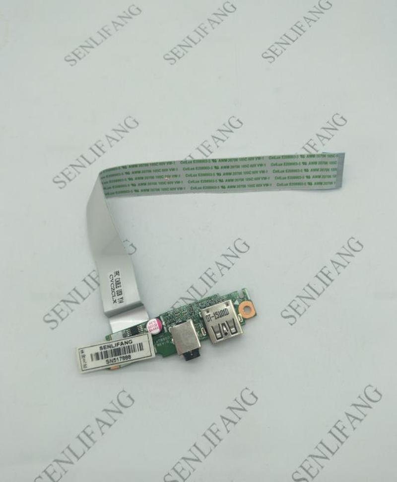 Free Shipping For HP Pavilion 15-P 17-P Series Usb Audio Board With Cable DAY11ATB6G0 33Y11UB0000
