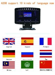 Image 5 - CXAT A208 Multi Functional Smart Car OBD HUD Digital Meter Speedometer Fuel Consumption Gauge Fault Code Alarm Display