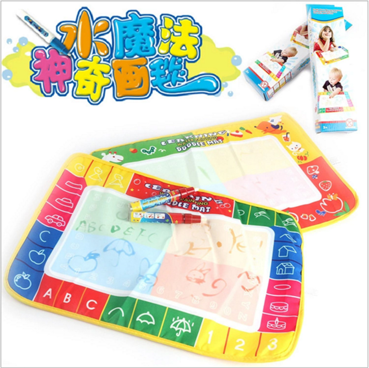 Color Water Magic Doodle Magic Water Canvas Boxed Children'S Educational Coloured Drawing Toy Drawing Graffiti Doing Homework Bl