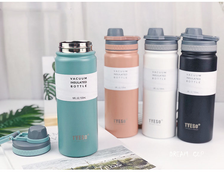 H38d0351b2caf4fb6bc38555785b8289fq - Thermoflask flask with drinking pouch (530ml)