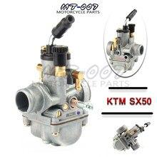 Carburateur pour KTM 50 50SX 50CC JUNIOR 50CC SX 2001 – 2008, pièces de carburateur 19mm