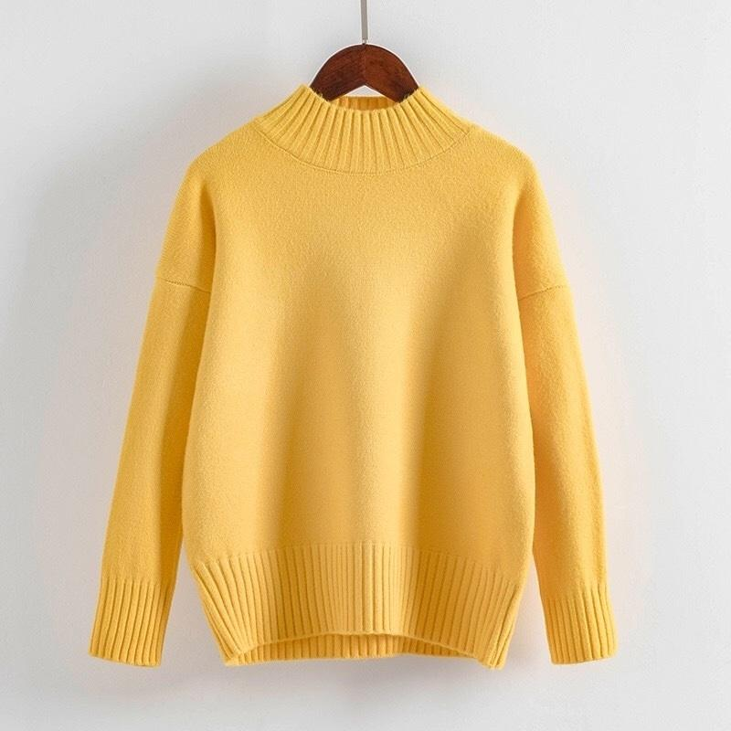 Cashmere Turtleneck Sweater Women 2021 Fashion Autumn Winter Pullover Jumper Pull Femme Hiver Streetwear Casual Knitted Sweater 2