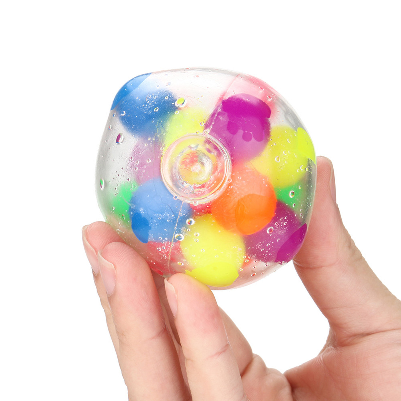 Figet Toys Stress-Ball Popit Pressure-Ball-Stress Reliever Color-Sensory 2PCS Office img3