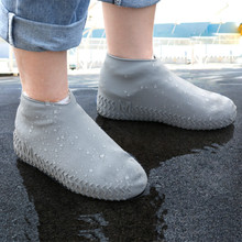 Shoe-Cover Silicone Waterproof Wear-Resistant Rainy-Day Non-Slip Thick Outdoor Adult