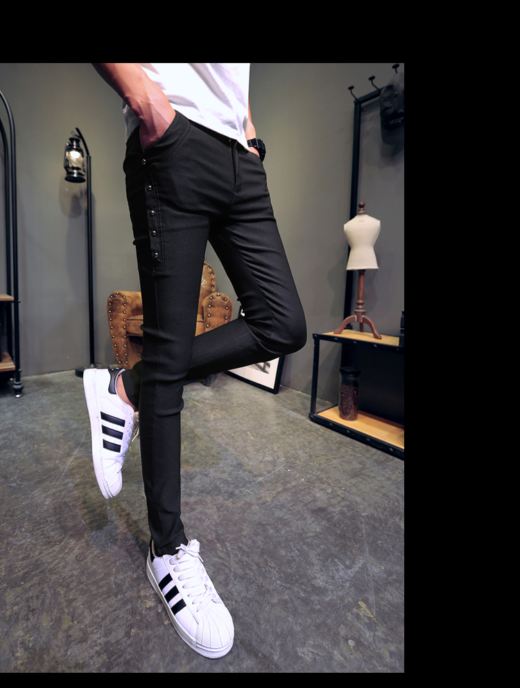 Brand New Men Summer Pants Fashion 2020 All Match Skinny Pants Men Streetwear Casual Trousers Men Hot Sale 21