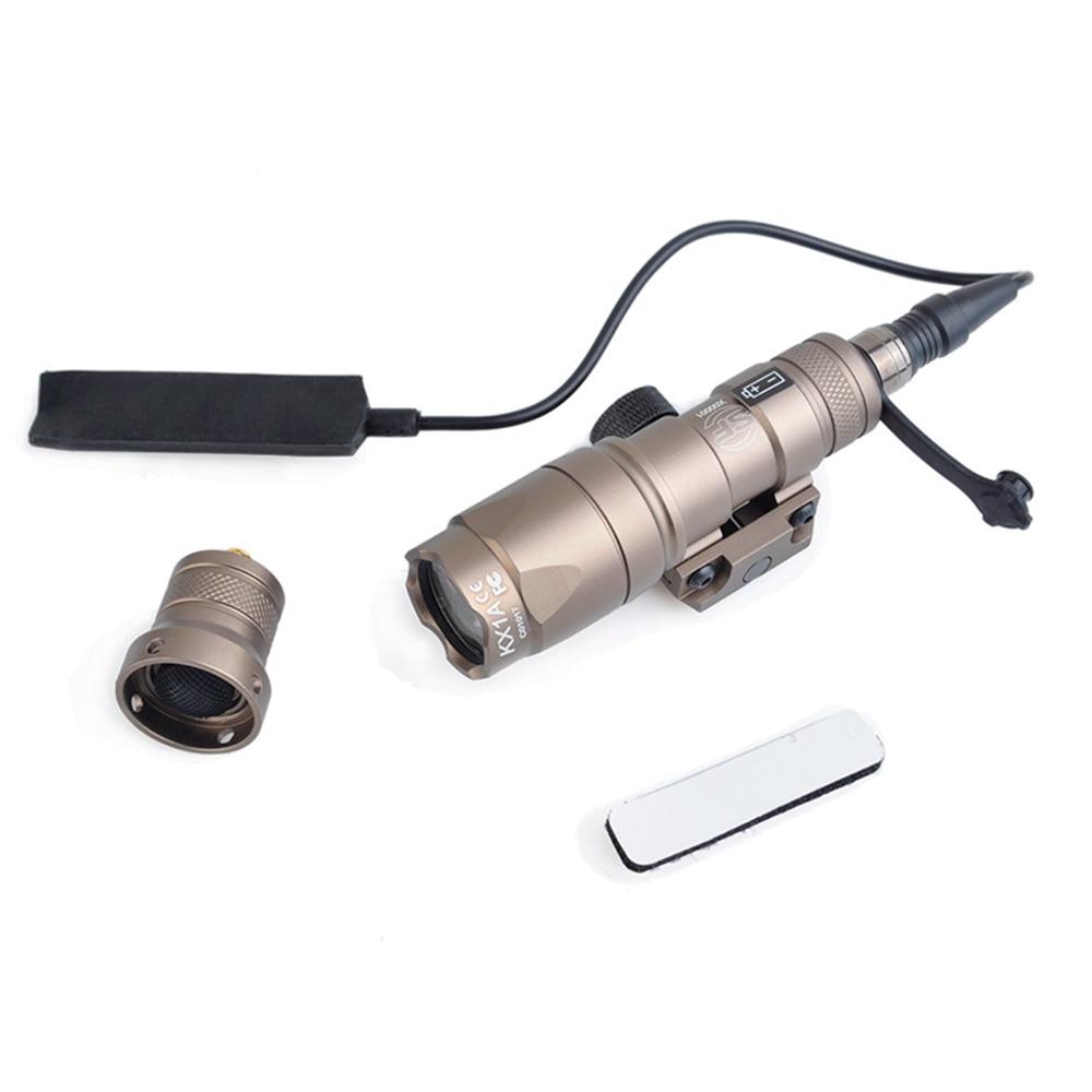 luz PEQ-15 la5c ir laser vermelho duplo