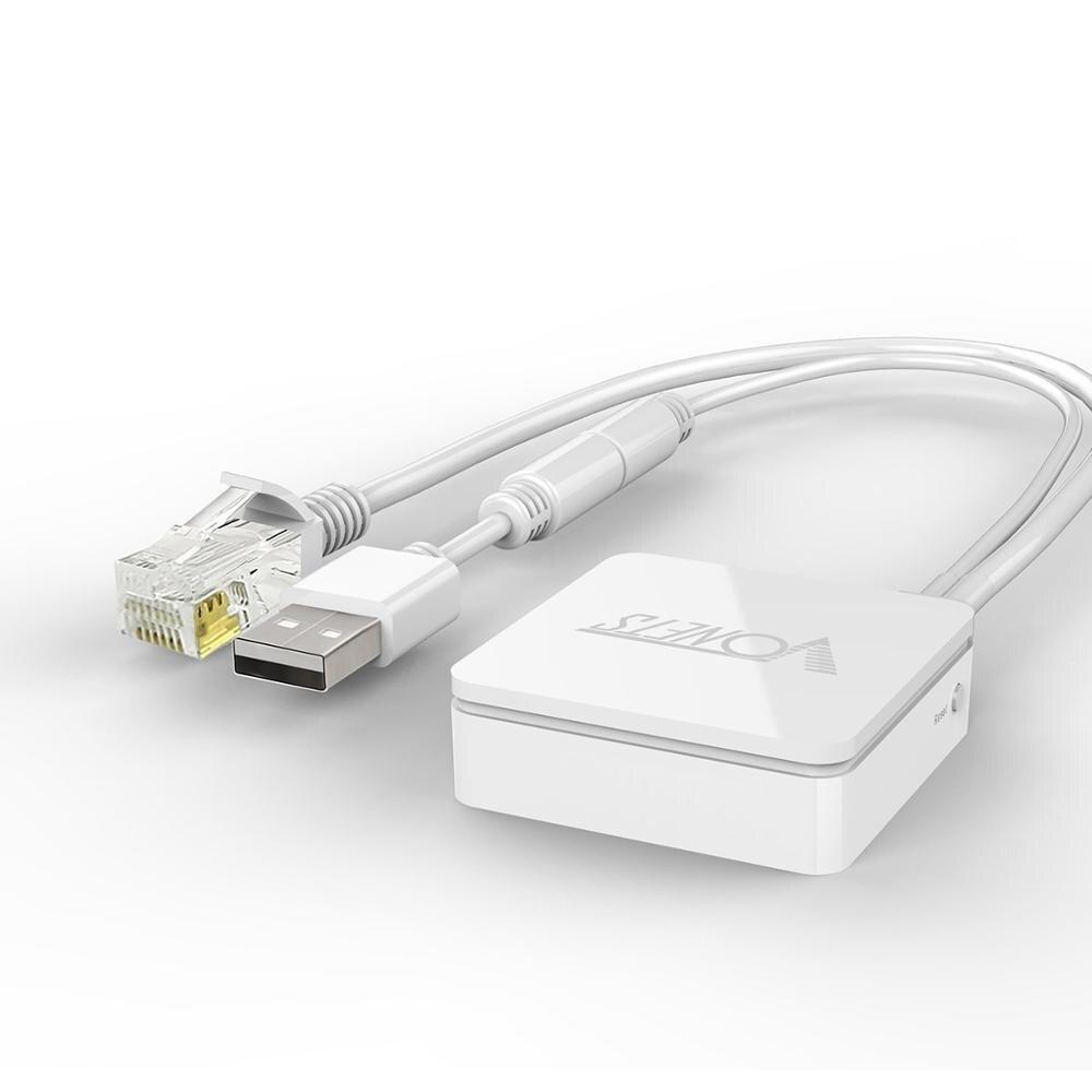 Беспроводной сетевой мини-роутер Vonets, Wi-Fi репитер с поддержкой Wi-Fi и моста, с AP 1 WAN/1 LAN
