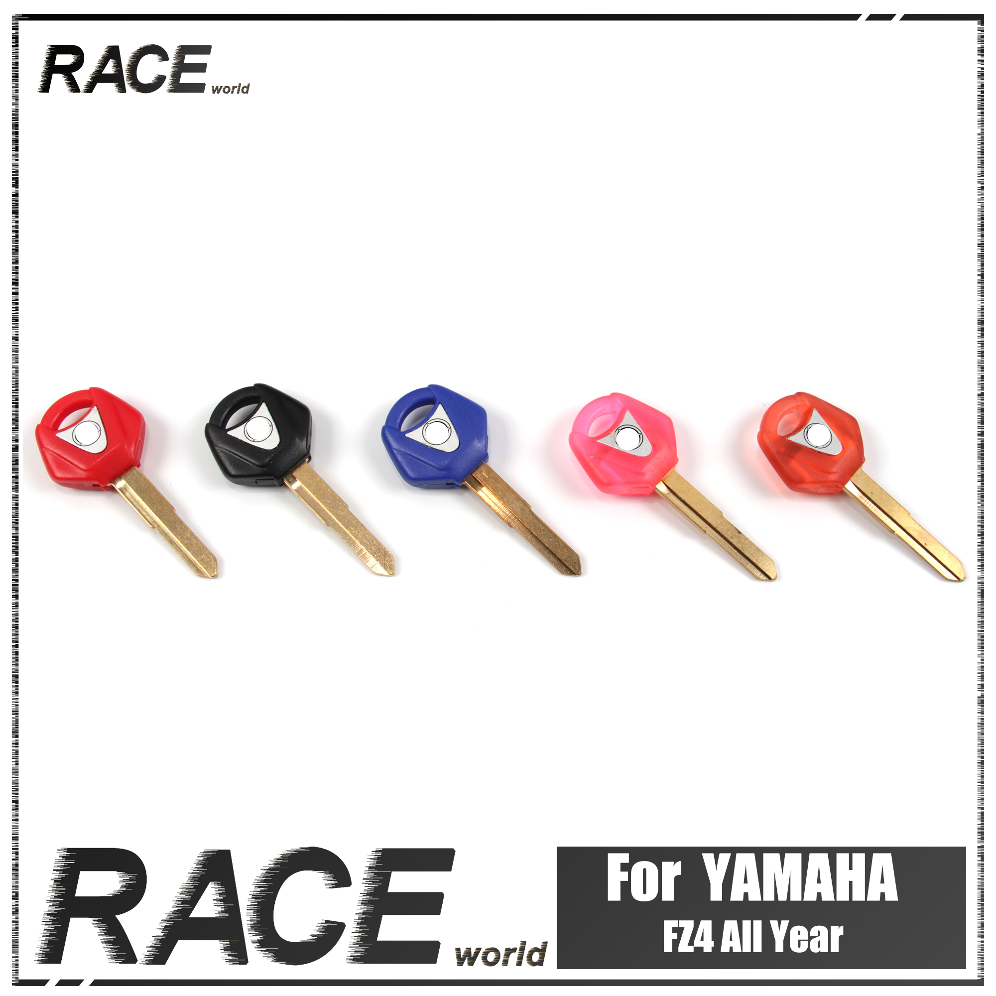 Motorcycle Uncut Blade Blank Key Embryo For YAMAHA YZF R1 R6 YZF-R1 YZF-R6 FZ1 FZ1S FZ1N FZ1000 Replacement Accessories 2003