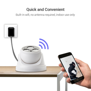 Image 2 - Hamrolte Wifi Camera HD1080P Yoosee Wireless Indoor Onvif Camera Nightvision Motion Detection RSTP Internal Microphone TF Slot