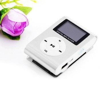 Darmowa wysyłka CARPRIE klips Mini USB odtwarzacz MP3 podpórka ekranu LCD 32GB Micro karta SD TF Walkman portátil de gran capacidad