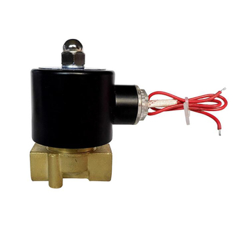 цена на 1/2 Brass Electric Solenoid Valve Normally Closed Water, Air, Diesel 2-way Solenoid Valve 2W-160-15 Direct-acting AC220V, DC12V