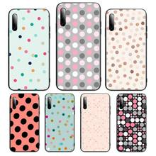 Polka Dots Phone Case For honor 7apro 8 9 10 20 8c 7c x lite play pro hrt-lxit ru Cover Fundas Coque