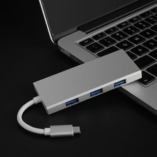 USB C HUB Type C to HDMI Hub USB 3.0 Adapter PD Charging Port SD TF card reader for MacBook Pro Samsung Galaxy S8 Huawei P20 Pro цена и фото