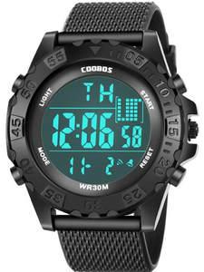 Digital Watches Sports Electronic Waterproof Kids Children LED for Reloj 100pcs/Lot Casual