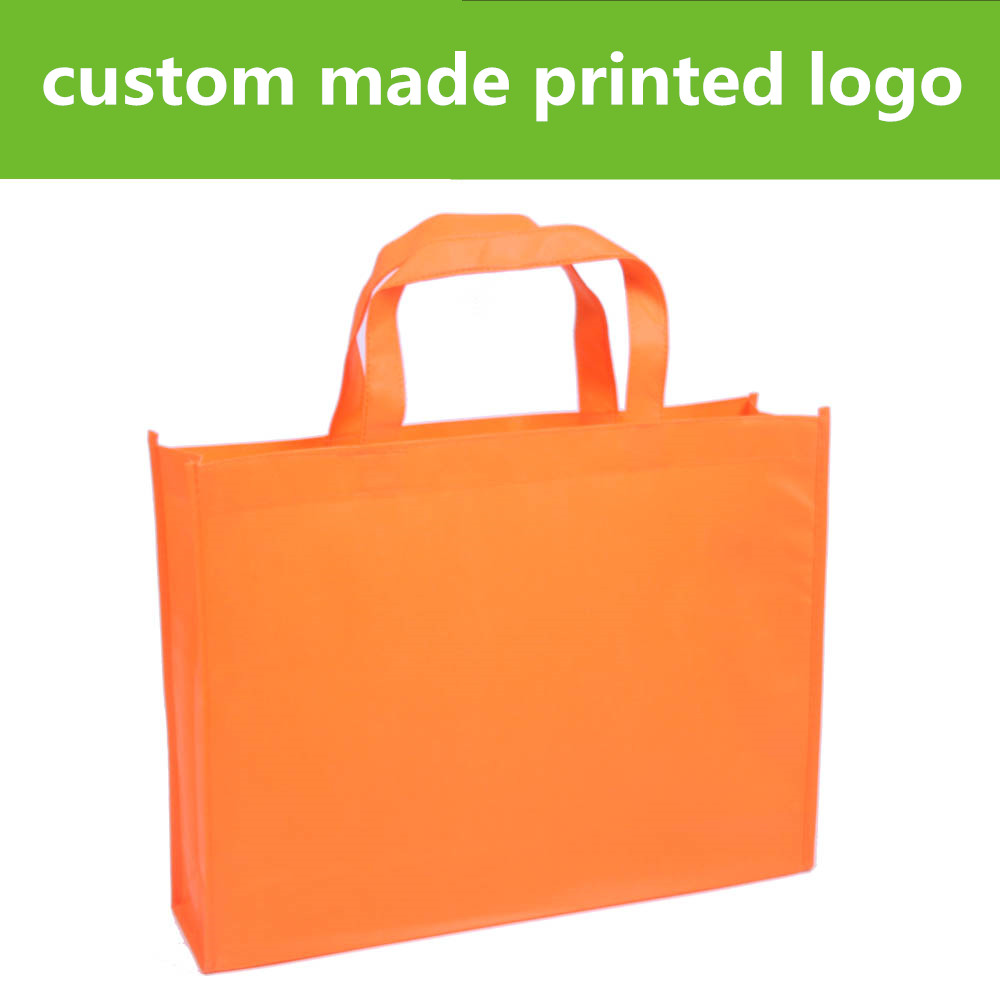 Custom Tote Bags  Wholesale Order Grocery Bag Polypropylene Shopping Bags With Logo Personalized Reusable Grocery For Prints Bag