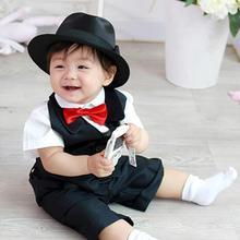 Сплошной цвет ребенок дети галстук регулируемый галстук бабочка вечеринка фотография реквизит