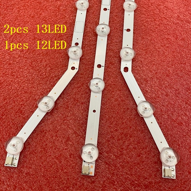 3 PCS LED Backlight strip for UE40EH5047 UE40EH5050 UE40EH5057 UE40H5003 UE40EH5037 UE40EH5005 UE40H5203 UE40H5004 UE40H4200AK